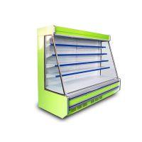 镜面玻璃立风柜风幕展示柜 便利店风幕柜 立式冷藏风幕柜