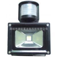 供应10W人体感应泛光灯光源/投光灯 用于楼道户外 ip65