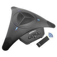 2.4G无线-360收音/视频会议全向麦克风/手机全向麦/无线 USB 3.5