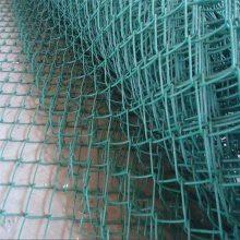 旺来镀锌丝勾花网 编织围栏网 边坡防护网