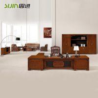 思进板式家具厂家是广东十大办公家具著名品牌,专业定制高档老板办公桌