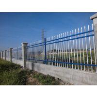 北京小区围墙护栏,也叫铁艺围栏,锌钢护栏网,1.2*2.5米浸塑插接13383380113李经理