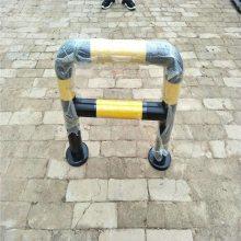 @六安市交通器材厂家供应优盾钢管警示柱汽车倒车杆防撞栏多钱一米质量好滴