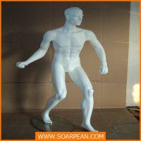 供应运动模特男跑步型橱窗道具订制来图订制生产工厂公司