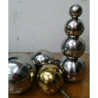 供应花园别墅河堤围栏专用210不锈钢管装饰小圆球 38mm