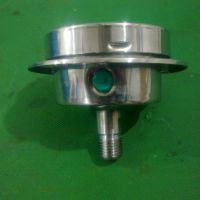 乔木电气供应面板式 不锈钢压力表 耐震压力表 316L材质
