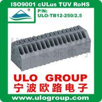 接线端子厂家 弹簧式免螺丝接线端子ULO-TB12-250/2.5 宁波欧路19