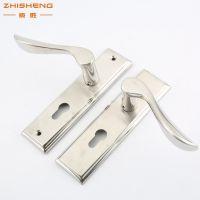 厂价直销单舌静音房门锁 不锈钢门锁 简约现代百搭室内门锁执手