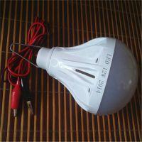 厂家直销佳旺LED鳄鱼夹球泡灯,12V球泡灯,LED电瓶球泡灯