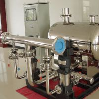 西安恒压变频供水设备 西安双泵压力供水设备 厂家直销不锈钢增压给水设备 RJ-74