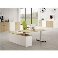 天时家具时尚新款升降电动大班桌、板式大班台