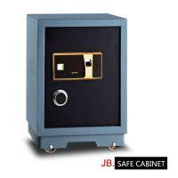 家宝办公家用防火保险箱指纹识别防盗入墙文件柜高57cm保险柜