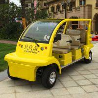 江苏锡牛6座电动观光车,景区游览观光车,休闲代步电动车
