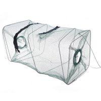 批发 质量超好折叠虾笼捕鱼笼捕虾网地笼子龙虾网渔笼网渔具