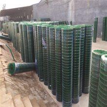 安新pvc铁丝网浸塑荷兰网 养鸡围栏铁丝网 优盾牌波浪焊接涂塑养殖网定做厂家
