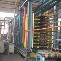 供应青岛国森生产利用垃圾塑料制成塑木复合板材生产设备