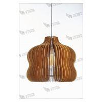 灯饰灯具浪漫简约田园椴木餐厅灯休闲区创意个性实木葫芦娃吊灯