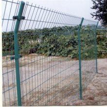 旺来园林市政护栏网 镀锌勾花护栏网 刺铁丝网隔离栅