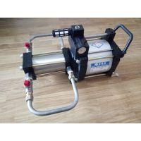 五倍压缩空气增压泵 空气增压系统 气动空气增压单元 气动增压红色版