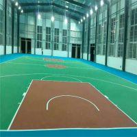 中山篮球场地面漆建设 球场专用丙烯酸材料多少一平方剑桥硬地篮球场标准施工厚度1.5mm
