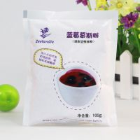 烘焙原料 芝兰雅 蓝莓慕斯粉 预拌粉 100g原装 [510037]