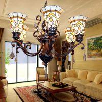 欧式灯具批发 创意玻璃艺术吊灯 客厅餐厅吊灯 家装工程厂家灯具