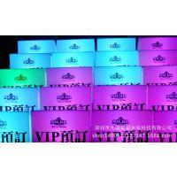 酒吧VIP贵宾预订留位/七彩LED装饰/发光菜单台卡 广州摆件控制板