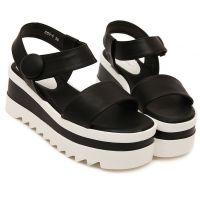 新款凉鞋厚底坡跟鞋明星同款大牌欧美女鞋外贸货源 厂家直销