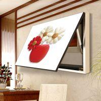 带框电表箱装饰画 配电箱电源盒可推拉客厅餐厅现代简约遮挡挂画
