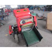 滁州秸秆打捆机工作流程 圣嘉打捆机操作视频 秸秆打包机厂家直销