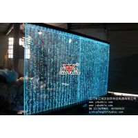 水舞气泡墙报价,竖格气泡墙,隔断屏风,水舞屏风,水幕墙图片