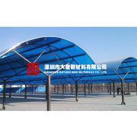 厂家供应杭州雨棚PC板|杭州无声PC耐力板雨棚板材|杭州车棚顶棚PC板