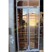 欧式艺术型不锈钢恒温酒柜 伟煌业镜面高贵典雅展示柜 金属焊接定制