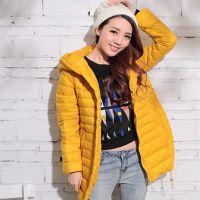 【睿牛】2016反季 韩版冬装女外套 厂家批发 白鸭绒羽绒服R1538#