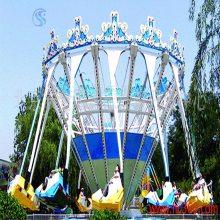 儿童游乐设备公园游乐设备20人超级秋千