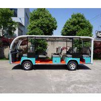 厦门朗迈观光园区电瓶代步车,T14旅游观光车,14座观光电动车