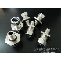 福莱通生产304不锈钢接头 不锈钢非标接头定制 端式不锈钢箱接头加工 工艺精湛