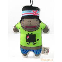 特 omess创意手工布艺玩偶情侣娃娃手机挂件钥匙扣节日礼品混批