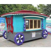 广东售卖车在哪可以找到_广东物业木制户外售卖车厂家