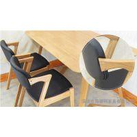 首推精品 现代皮制办公椅子 莱莉雅西餐厅指定餐椅 款式新颖