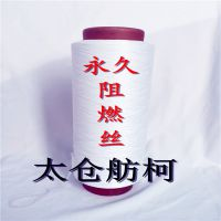 阻燃丝、阻燃纤维、防火纱线、涤纶DTY100D/48F(6500PPM)、舫柯