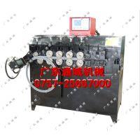 广东通域厂家直供TYD-400B-12扁钢法兰打圈机 自动扁铁卷圆机