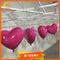 供应各类婚礼布置用爱心气球摆件
