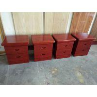 烟台瑞馨家具定制红橡床头柜
