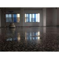 东莞东城区水磨石翻新---牛山厂房水磨石硬化地坪---纤尘不染.光可鉴人