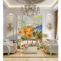 富阳数码瓷砖电视背景墙 吊顶集成图案平板打印机