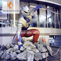 玻璃钢雕塑奥特曼卡通模型雕塑奥特曼玻璃钢仿真雕塑摆饰展览定做