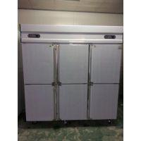 经济款六门保鲜柜 六门厨房冷藏柜 雅绅宝工程款冷柜 商用冰柜 冷柜厂家