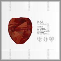 环保奥地利元素水钻5942系列14mm爱心形状水晶珠子DIY饰品配件