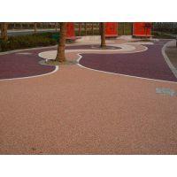 上海拜石胶粘石透水地坪材料厂家,十年品质,保质保量